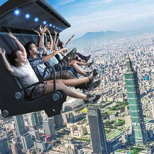 i-Ride 5D飛行劇院